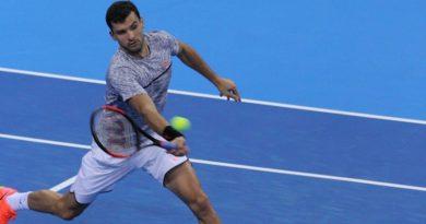 Димитров записа бърз успех над Троицки и е на полуфинал в София