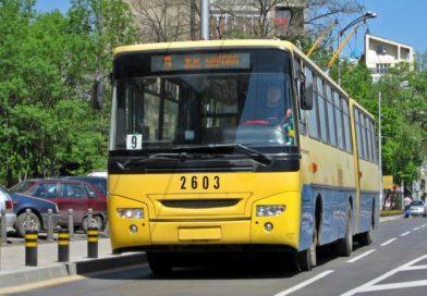 След ремонт на кръстовище в Плевен тролейбусите се оказаха в насрещното