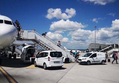 Първите чартърни туристи на летище Варна за сезон 2020 пристигнаха днес